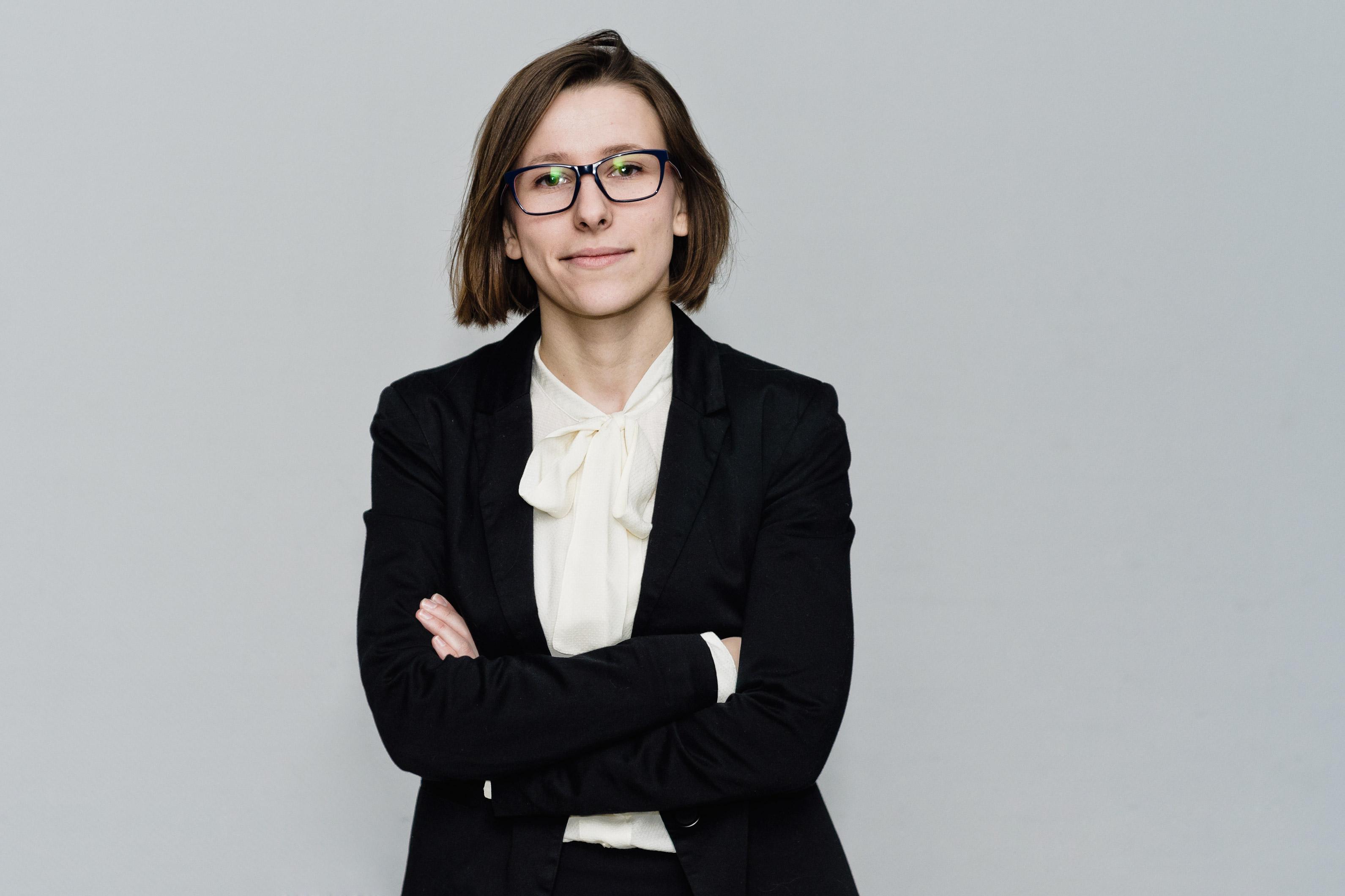 Adwokat Kaja Zaleska-Korziuk. Zdjęcie autorstwa Jakuba Kudelskiego.